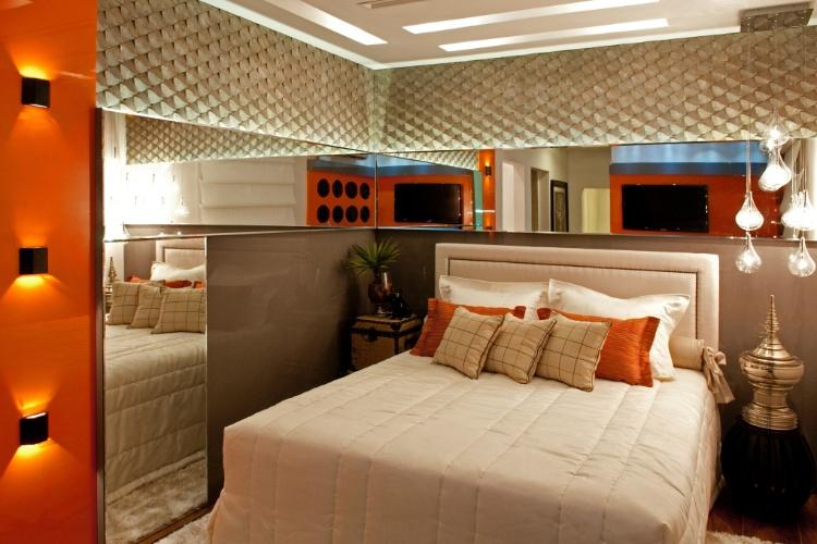 Casa Cor SC - 2012 -  Apartamento: quarto do filho projetado pela arquiteta Adriana Piva