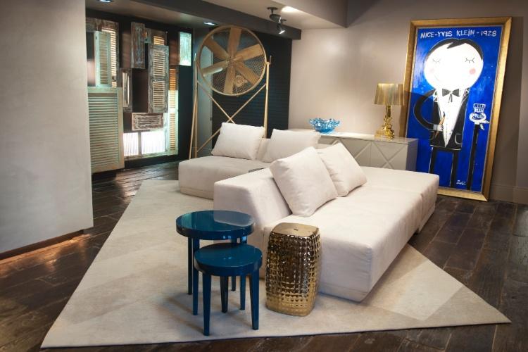 Casa Cor SC - 2012 - Bilheteria com lavabos desenhados por Ticiana Toniolo, Ana Luiza Caldeira  e Maria Cristina Araujo