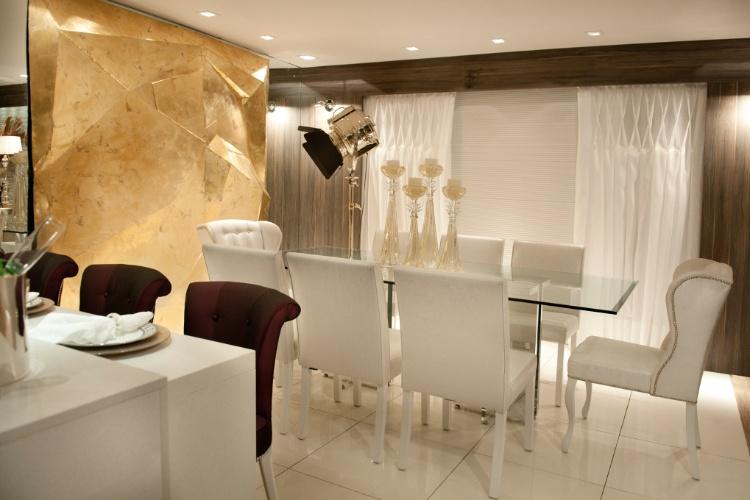 """Casa Cor SC - 2012 - Cozinha gourmet, ambiente do módulo """"Um Refúgio em Balneário Camboriú"""", projetado pelos arquitetos Alexandre Voigt e Rafael Santos"""
