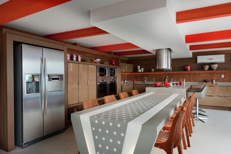 Casa Cor SC - 2012 - Cozinha gourmet criada por Cristiane Passing