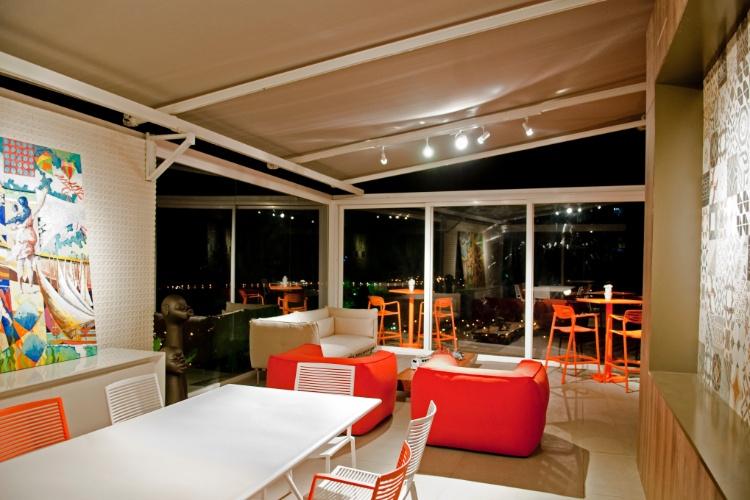 Casa Cor SC - 2012 - Espaço Belvedere criado pelo arquiteto Sidnei Machado