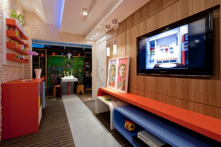 Casa Cor SC - 2012 - Espaço kids desenvolvido por Elizabeth Isidoro e Carolina Regis