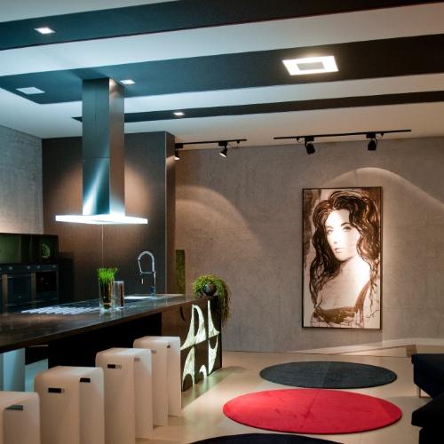 Casa Cor SC - 2012 - Gourmet arte criado pelos arquitetos Thais Zimmermann e Luiz Fernando Zanoni