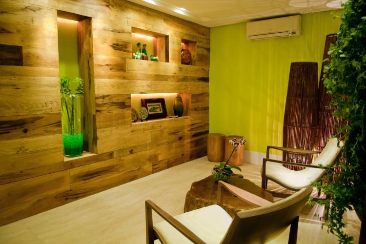Casa Cor SC - 2012 - Hall de entrada do apartamento criado por Antonia Adami
