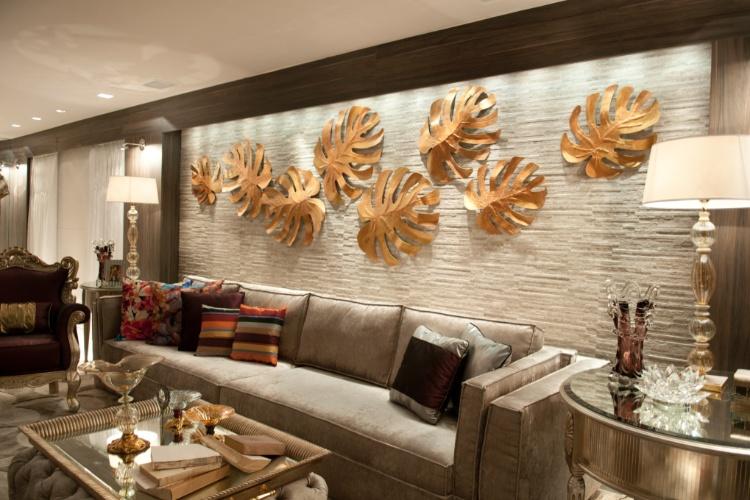 """Casa Cor SC - 2012 - Living, ambiente do módulo """"Um Refúgio em Balneário Camboriú"""", projetado pelos arquitetos Alexandre Voigt e Rafael Santos"""