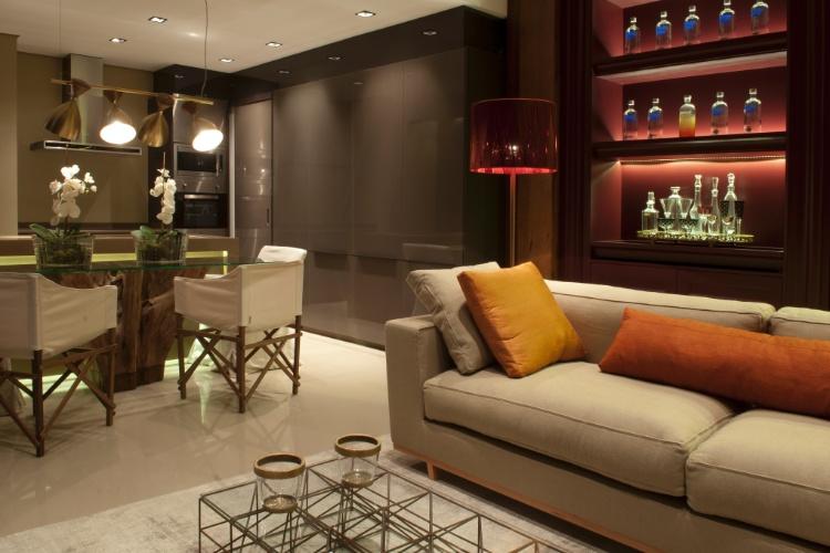 Casa Cor SC - 2012 - Loft assinado pela arquiteta Fernanda Eicke