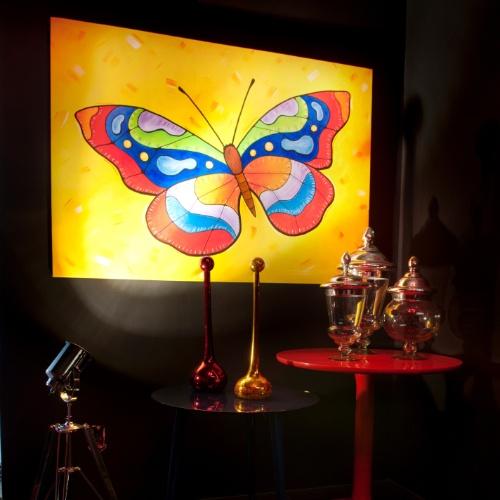 Casa Cor SC - 2012 - Lounge desenhado pela arquiteta Larissa Veríssimo