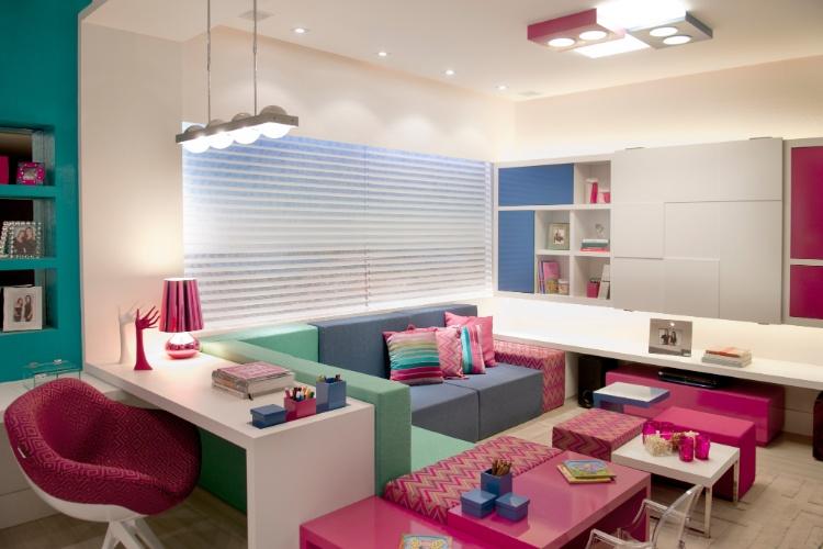 Casa Cor SC - 2012 - O Hobby da Mãe, das arquitetas Cristine Ângelo Boing e Fernanda Carlin da Silva, faz parte do Apartamento Casa Cor