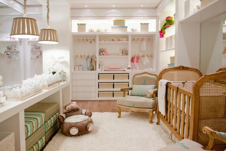 Casa Cor SC - 2012 - Quarto do Bebê do apartamento criado por arquiteta Karin Heinzen