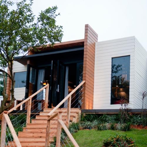 Casa Cor SC - 2012 - Verde Casa Loft assinado pela arquiteta Helena Rocha