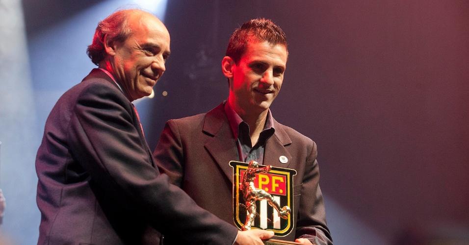 Fumagalli recebeu o prêmio de craque do interior do Campeonato Paulista