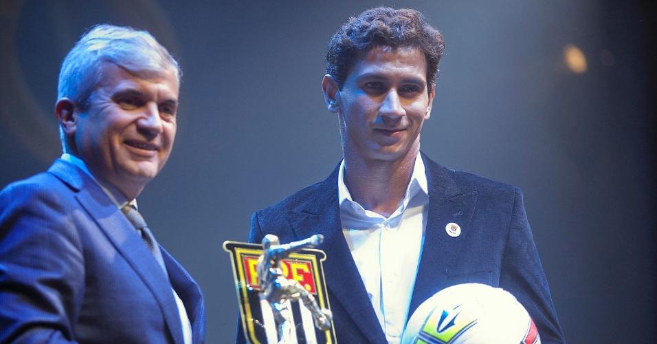 Paulo Henrique Ganso, do Santos, foi eleito um dos melhores meias do Campeonato Paulista
