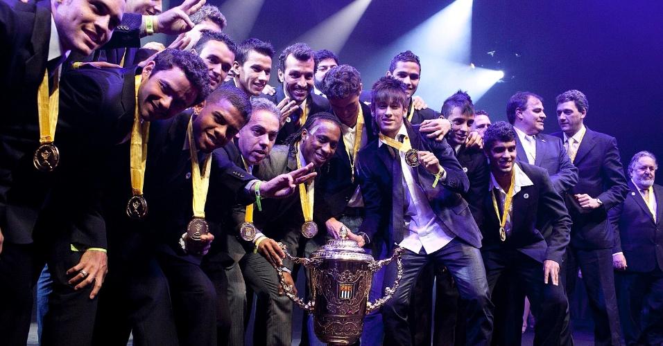 Santos ficou com o título do Campeonato Paulista