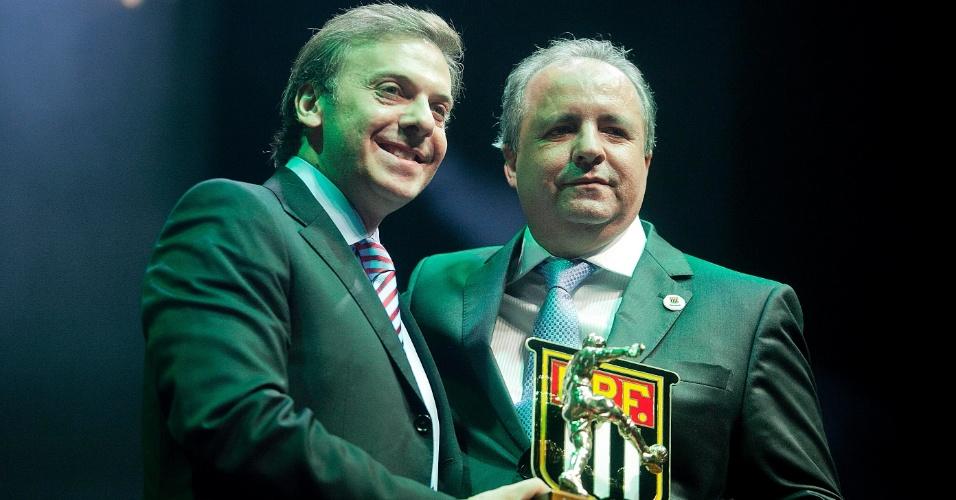 Vice-campeão paulista com o Guarani, Vadão foi eleito o melhor técnico da competição