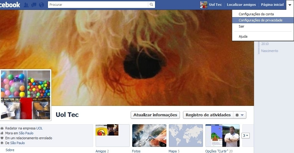 Capa do Facebook