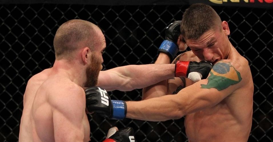 Carlo Prater é atingido por TJ Grant e acaba derrotado no UFC realizado em Fairfax (EUA)
