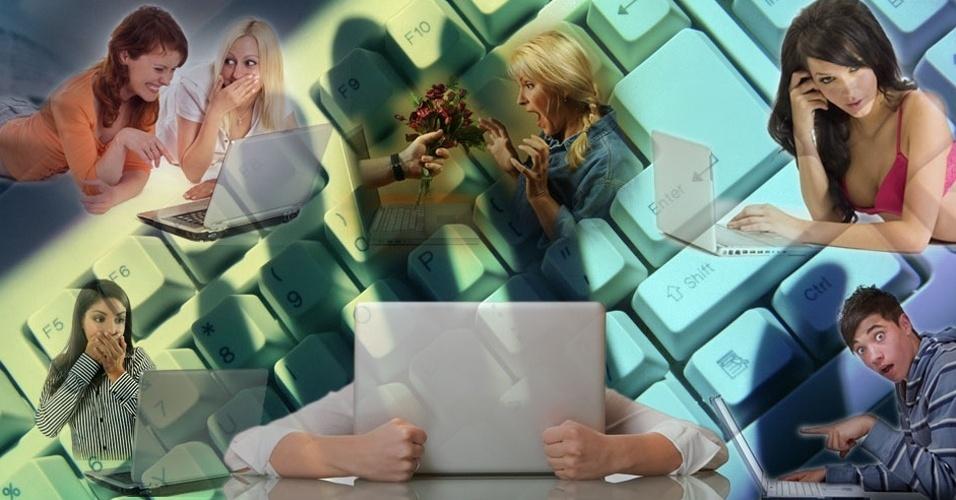 Chamada para álbum: Conheça dicas de comportamento nas redes sociais para evitar problemas e gafes