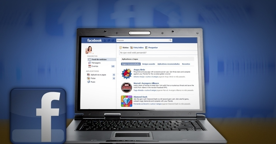 Facebook: aplicativos capturam dados do perfil