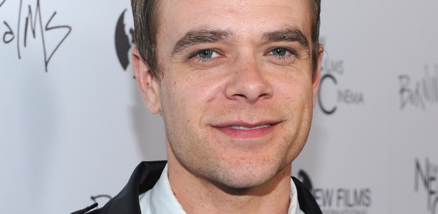 "O ator Nick Stahl na première de ""Burning Palms"", em Los Angeles (12/1/11)"