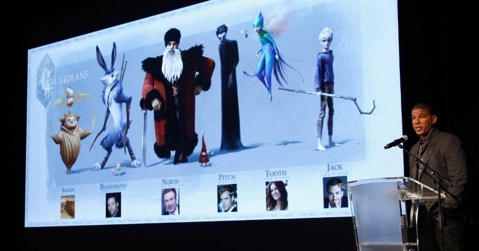 """O diretor Peter Ramsey aproveita o buzz de Cannes pra começar a divulgação de """"Rise of the Guardians"""" (16/5/12)"""