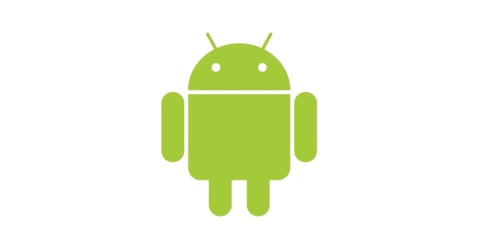 Robozinho símbolo do Android, do Google
