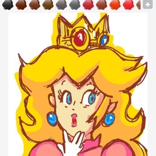 """A cabeleira tem um quê de Adele, mas essa é a princesa Peach, da série """"Super Mario Bros."""""""