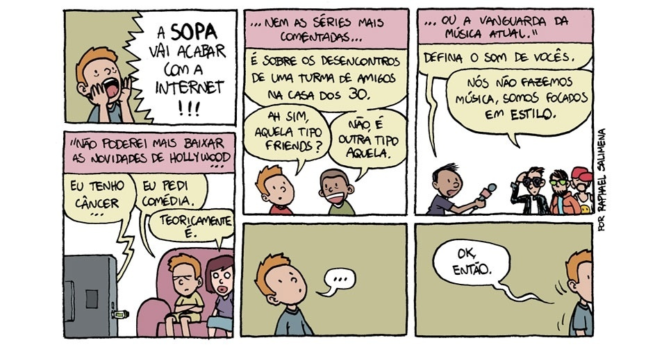 A Sopa vai acabar com a internet