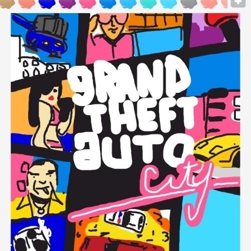 """Basta preencher o espaço dessa capa de """"Grand Theft Auto: Vice City"""" para descobrir a palavra"""