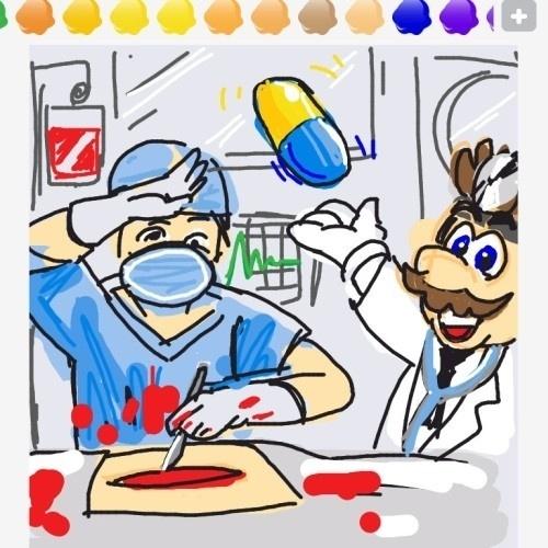 """Em """"Dr. Mario"""", o bigodudo virou um médico, mas quem está operando é um outro tipo de especialista"""