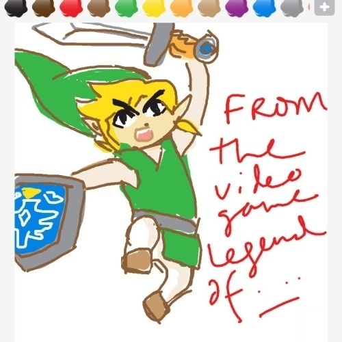 """Mais uma vez: Link é o nome do personagem, mas ele é protagonista de """"The Legend of..."""""""