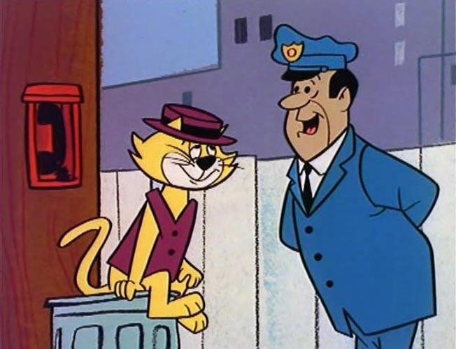 """Manda Chuva e Guarda Belo são personagens de um célebre """"cartoon"""" da produtora Hanna-Barbera. """"Cartoon"""", como todo mundo sabe, significa desenho animado em inglês. O que muita gente não sabe é que, na língua do Manda Chuva, também existe a palavra """"carton"""", que não equivale a cartão, como pode parecer."""