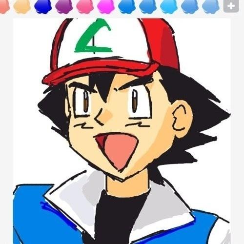 """Referências a """"Pokémon"""" são numerosas nos desenhos de """"Draw Something"""". A imagem é de Ash, protagonista dos primeiros games e do desenho animado"""