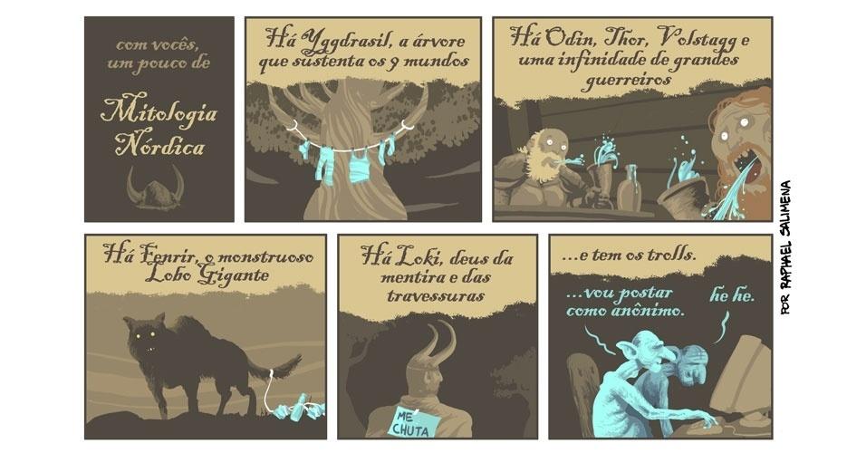 Um pouco de mitologia nórdica