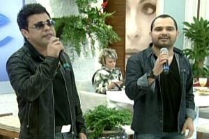 Zezé Di Camargo e Luciano no programa Mais Você, de Ana Maria Braga (18/5/12)