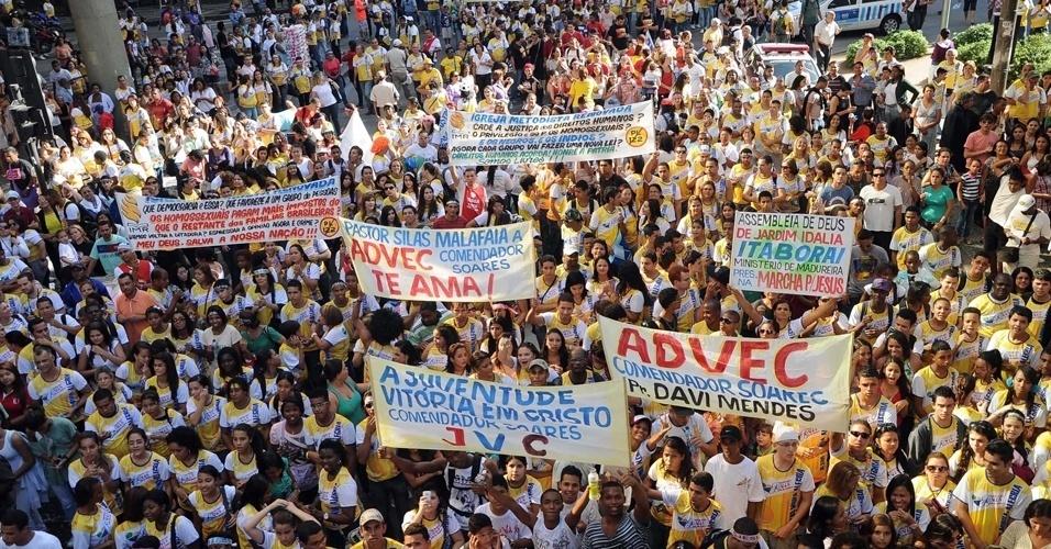 19.mai.2012 - Marcha para Jesus