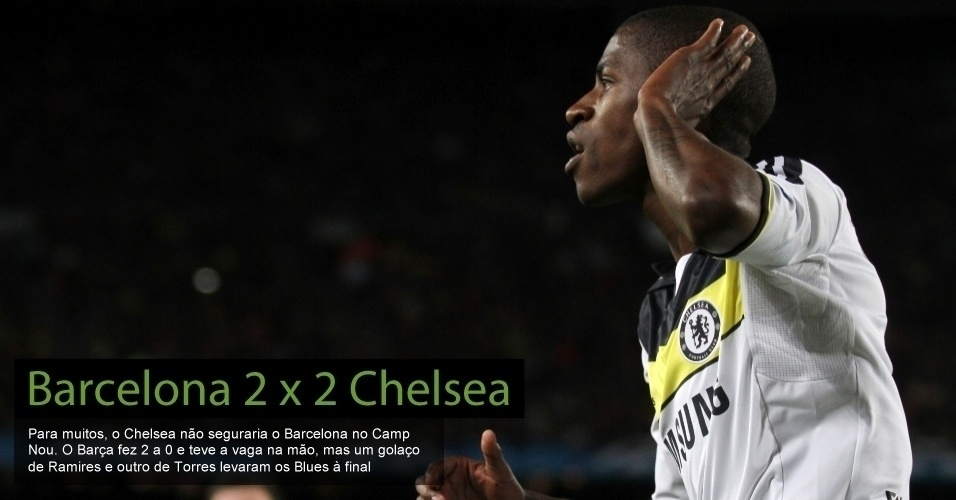 Barcelona 2 x 2 Chelsea
