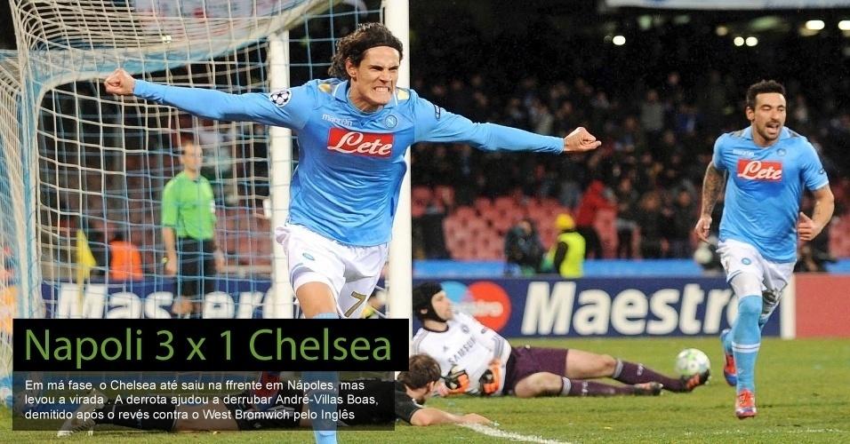Napoli 3 x 1 Chelsea