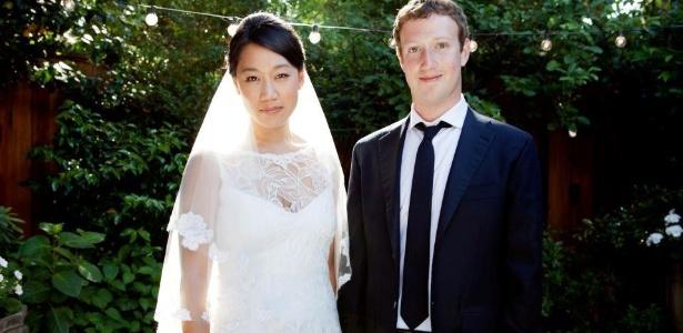 Mark Zuckerberg se casa na Califórnia com Priscilla Chan, sua namorada há nove anos (20/5/12)