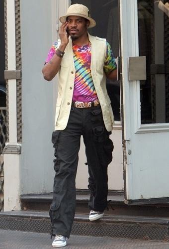 André 3000 do OutKast também faz parte dos nomes masculinos do hip hop influentes na moda