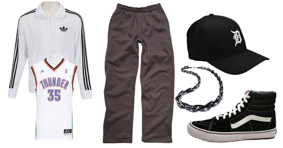 As roupas esportivas têm papel fundamental nas roupas do hip hop