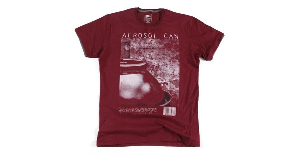 Camiseta estampada; R$ 25,90, na Riachuelo