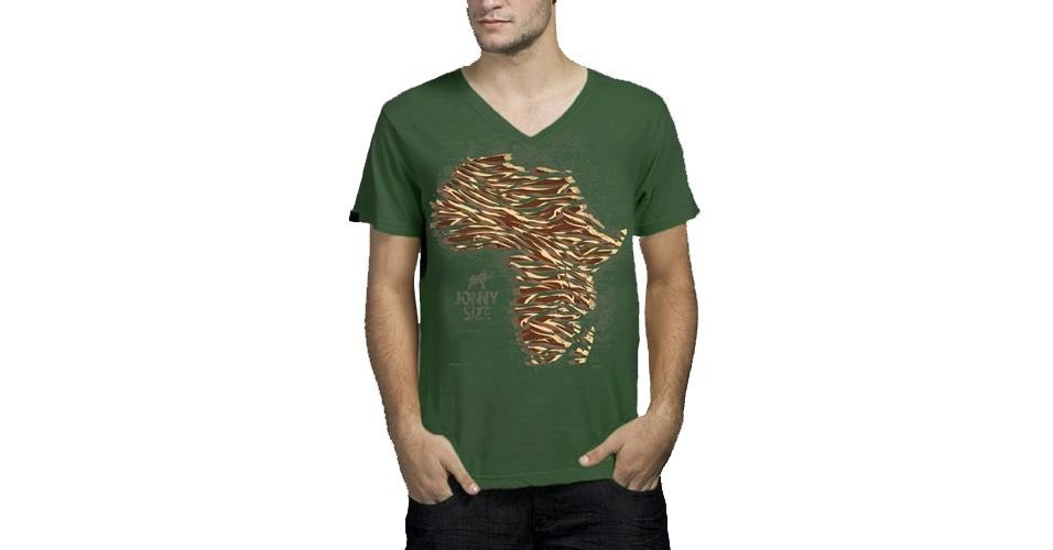 Camiseta MC África; a partir de R$ 86,90, na Jonny Size
