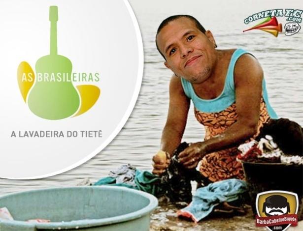 Corneta FC: Luis Fabiano paga a posta e lava camisa de rival