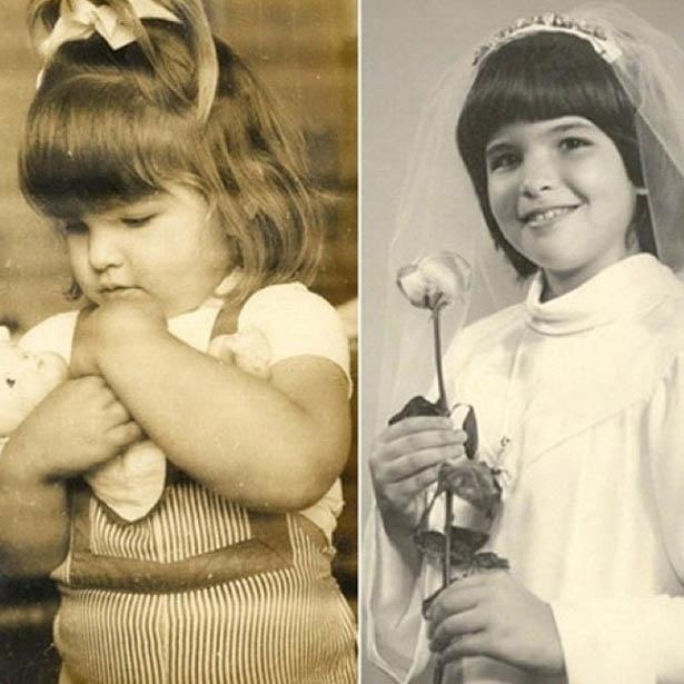 Cristiana Oliveira divulga foto da sua infância no Twitter (21/5/2012)