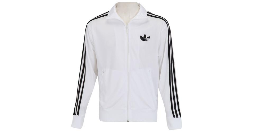 Jaqueta Adidas branca; a partir de R$ 149,90, na Centauro