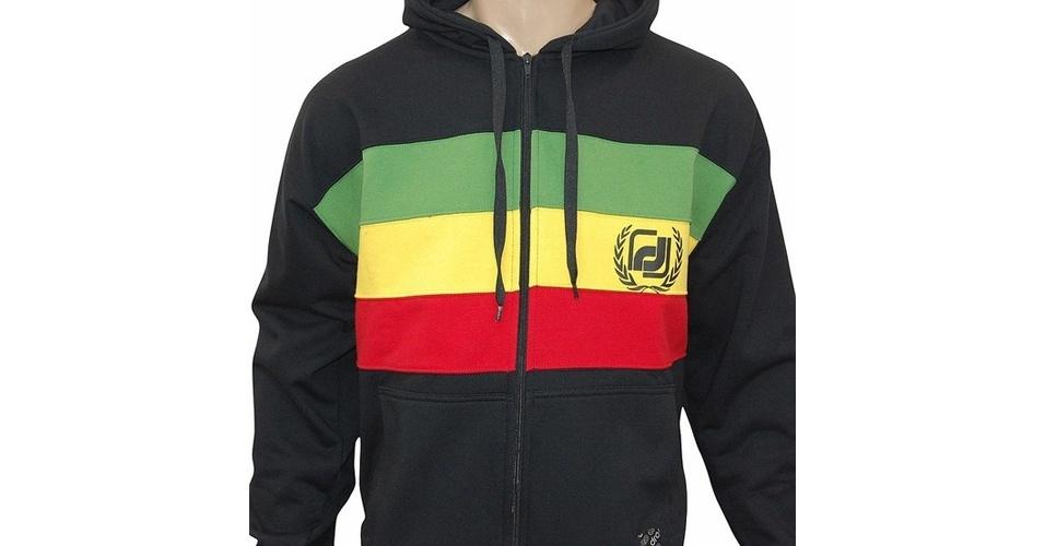 Moletom com bandeira da Jamaica; a partir de R$ 159,90, na Symbol