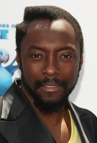 O cabelo de Will.I.Am, do Black Eyed Peas, recupera o estilo hip hop dos anos 1980 com penteado geométrico