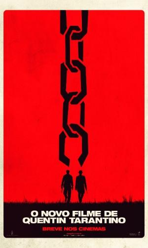"Primeiro cartaz nacional de ""Django Livre"", de Quentin Tarantino"