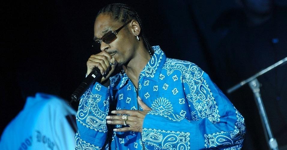 Snoop Dogg já usou tranças de raiz, uma das grandes características do movimento hip hop