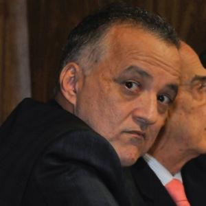 O empresário Carlinhos Cachoeira presta depoimento